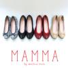 [MAMMA(マンマ)] の靴-妊婦、子育てママにやさしい靴!むくみ対応 脱ぎ履きしやすく滑りにくい バレエシューズ(全カラー)